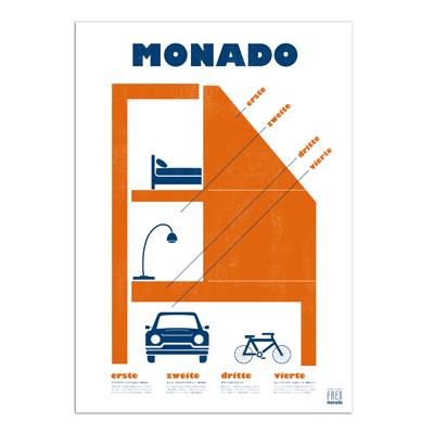 HEBEL HAUS MONADO Poster