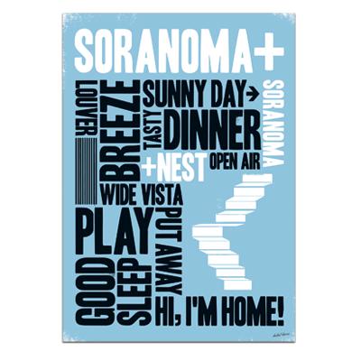 HEBEL HAUS SORANOMA Poster