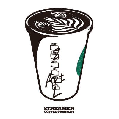 STREAMER COFFEE COMPANY Tee